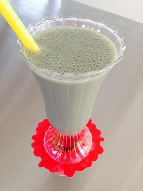 豆乳 バナナ 青汁 黒ゴマペースト